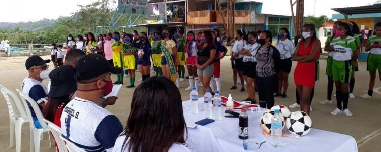 INAGURACION DE LOS JUEGOS DEPORTIVOS EN LA PARROQUIA SAN GREGORIO