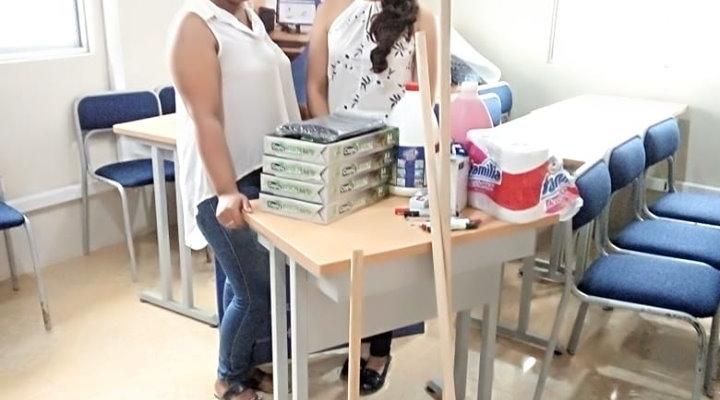ENTREGA DE SUMINISTROS DE OFICINA Y MATERIALES DE LIMPIEZA.